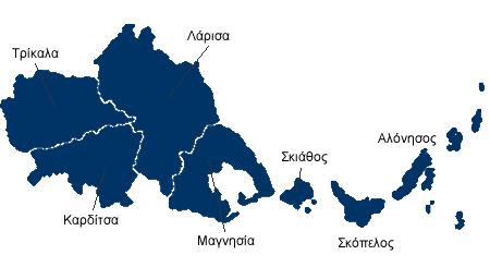 Αποτέλεσμα εικόνας για Περιφέρεια Θεσσαλίας